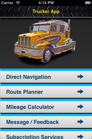 Trucker App & GPS for Truckers screenshot 1