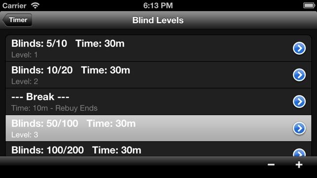 Pokertimer On The App Store