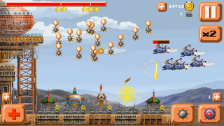 Ventivian Defender FREE - Pixel Steampunk Battles... of DOOM! screenshot two