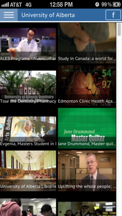 University of Alberta screenshot-3
