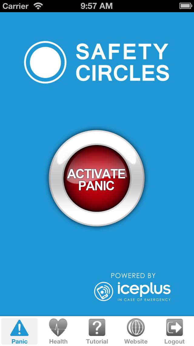 Safety Circles screenshot two