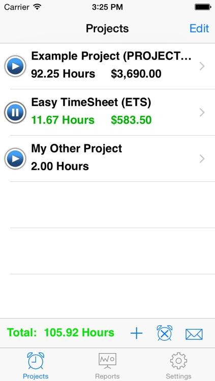 Easy TimeSheet