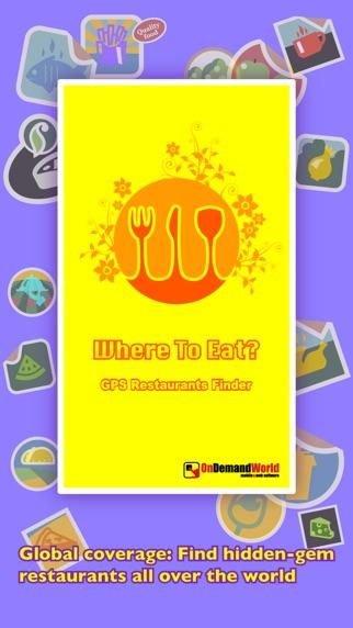 Screenshot for Where To Eat? PRO - Trova ristoranti usando il GPS in Italy App Store