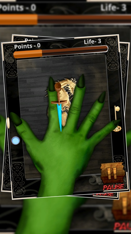 Magic Knife Agility Quest : RPG Creatures and Monsters Hands - Free screenshot-4