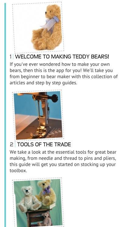 Making Teddy Bears