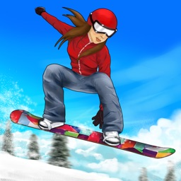 Champion Snowboarder Racing: Crazy Stunt Sports Hero