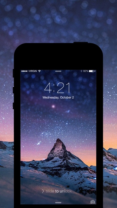 Pro Screen 360 Lockscreen Wallpapers Theme Backgrounds For IOS 8