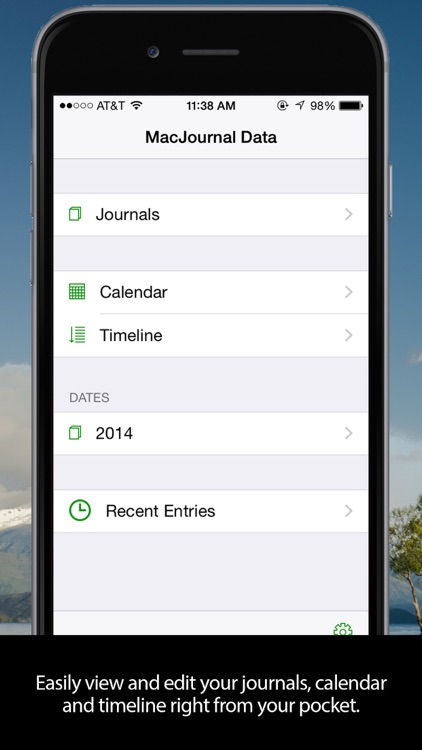 MacJournal for iPhone