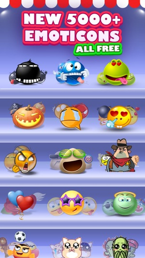5000 emoji new 3d animated emoticons on the app store - Emoji Iphone Gratuit