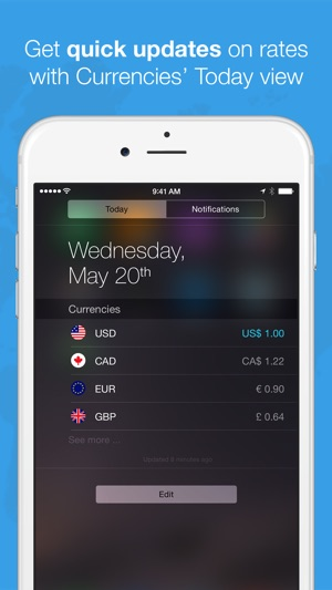 Currencies by Edovia Screenshot