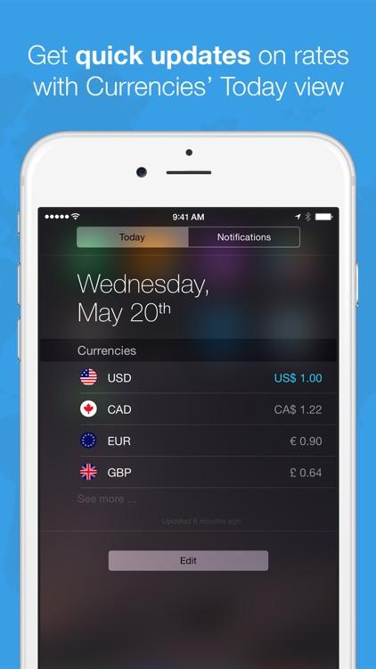 Currencies by Edovia screenshot-4