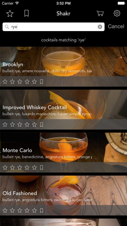 Shakr - Curated Cocktail Guide screenshot-2