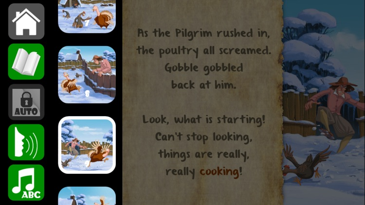 Thanksgiving Tale & Games - Gobble The Famous Turkey - eBook #1