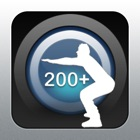 深蹲 200+ icon