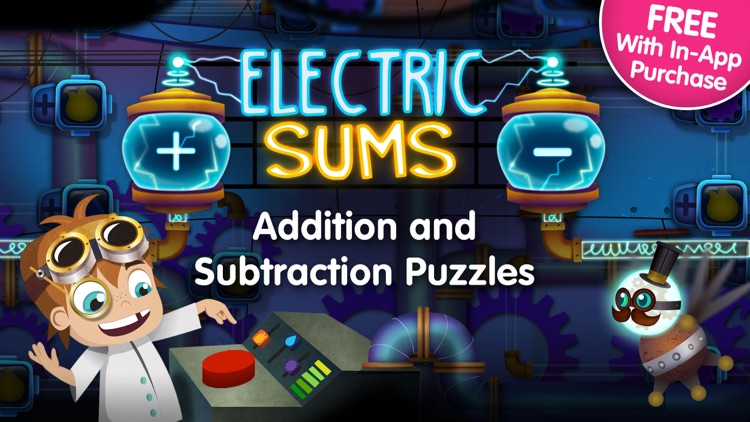 Electric Sums - Lumio Addition & Subtraction screenshot-0