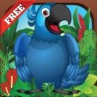 Blue Bird Parrot Shot: Best Rock Launch Adventure icon