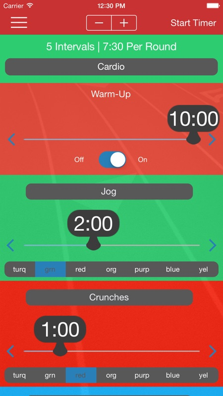 Interval Timer Infinite Free - Timing for HIIT, Tabata
