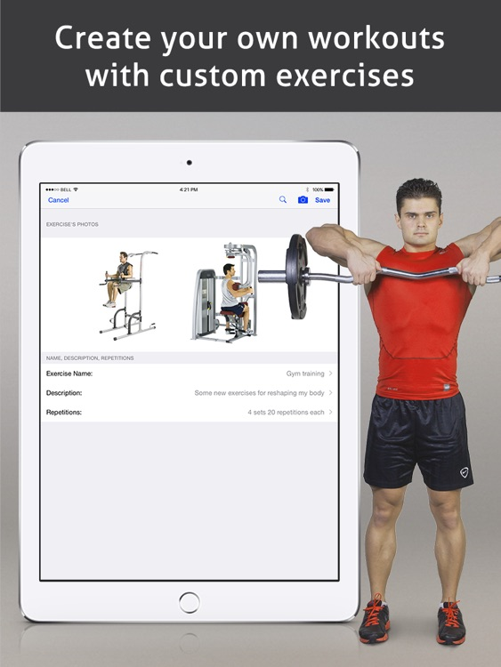 Go Fitness Pro HD screenshot-3
