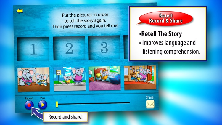The Lion and the Mouse with WordWinks and Retell, Record & Share screenshot-3