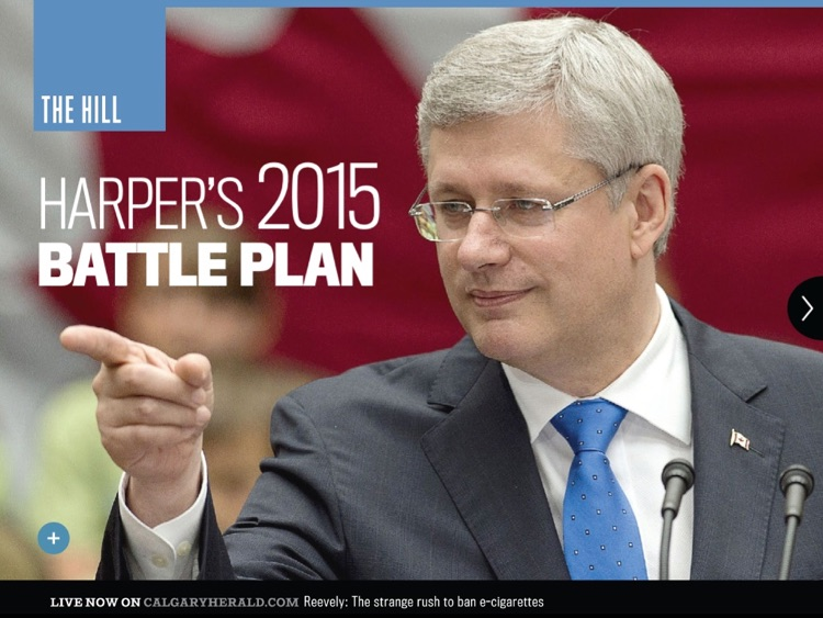 Calgary Herald for iPad
