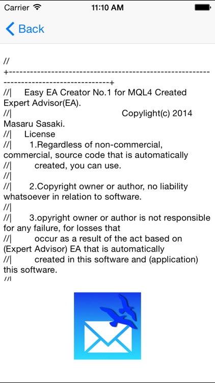 Easy EA create one for MQL4 screenshot-2