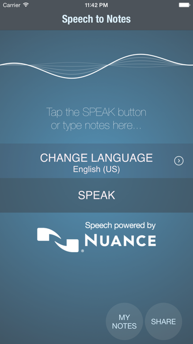 Screenshot for Speech to notes in Egypt App Store