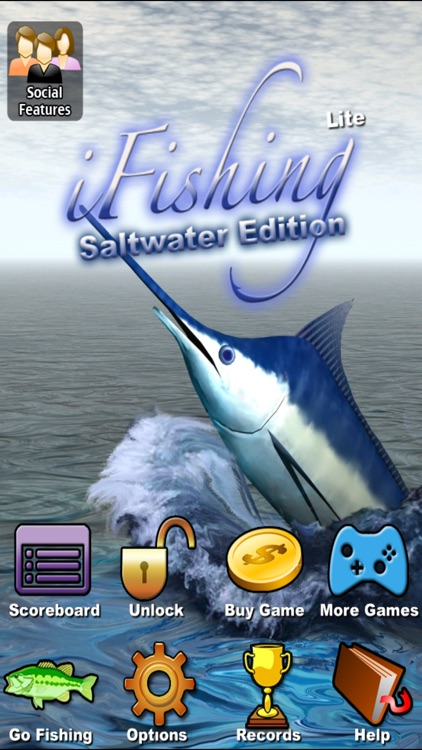 i Fishing Saltwater Edition Lite