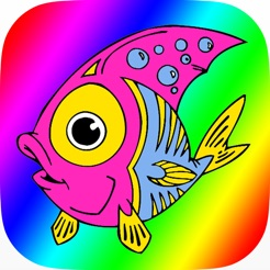 çocuklar Için Deniz Hayvanları Boyama Kitabı App Storeda