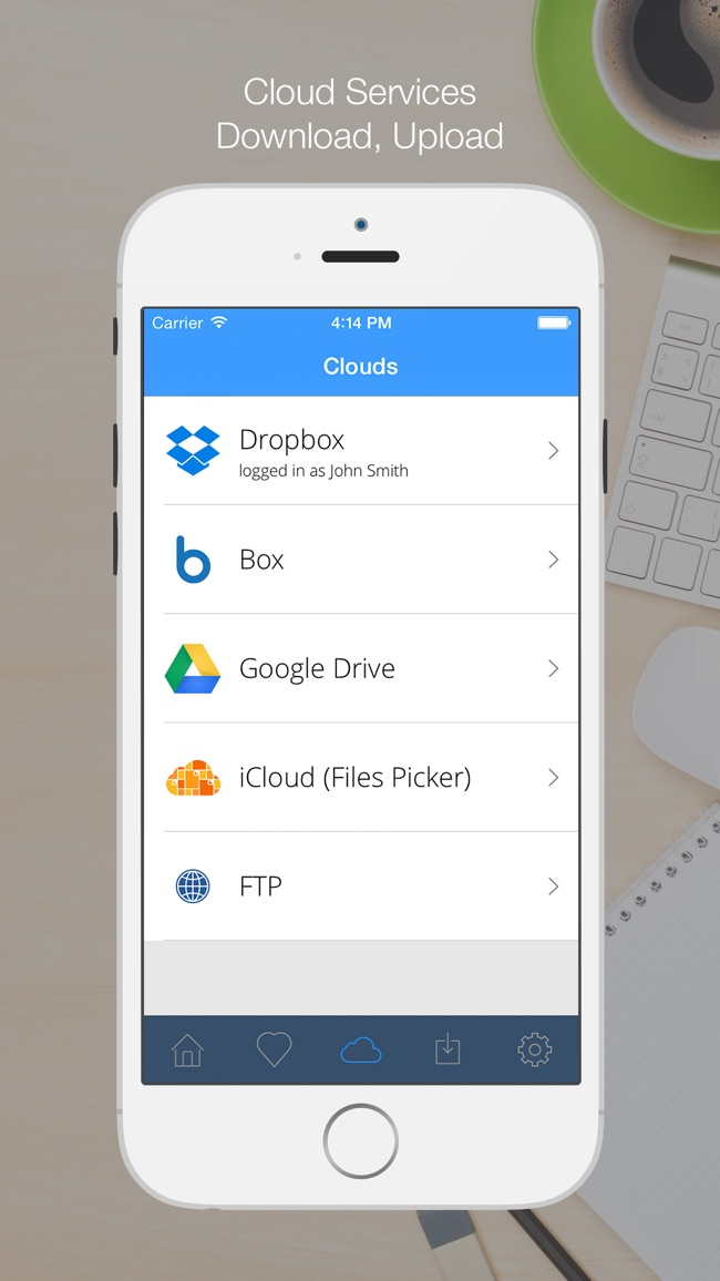 Cloud Hub - File Manager, Document Reader, Browser Screenshot