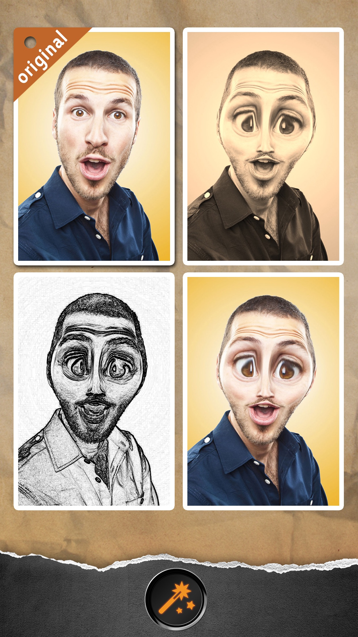 Funny Face - Photo Helium Booth with Sketch,Blur,Boken Filter Effects Screenshot