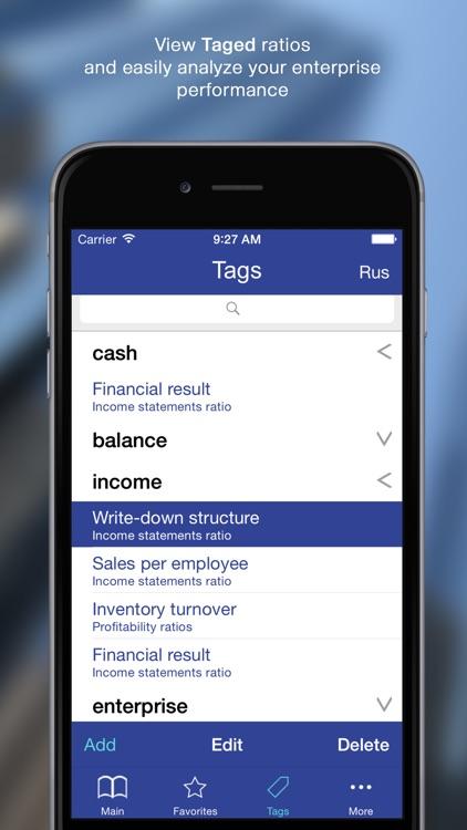 100 Finance Ratios for iPhone screenshot-4