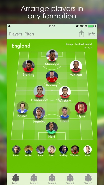 Lineup - Football Squad screenshot-0