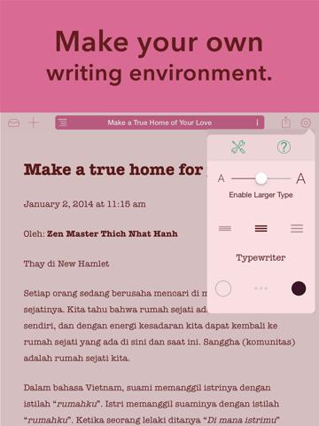 Matcha - Writing App & Text Processor screenshot