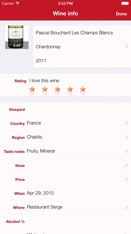 Winetastic screenshot-4