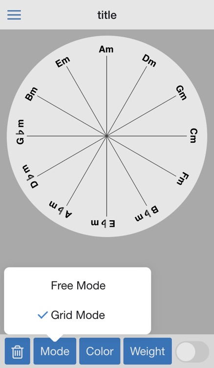 Circle of 4ths screenshot-2