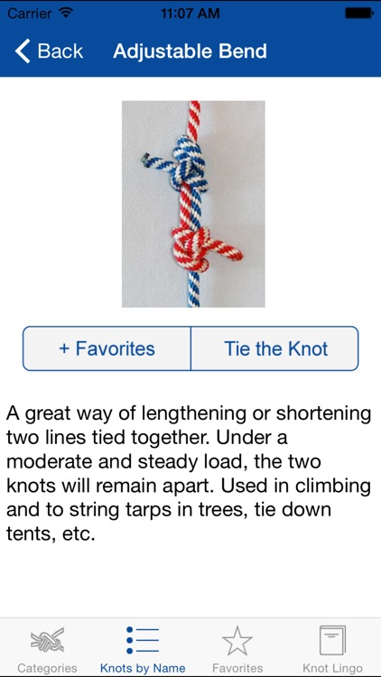 Knot Guide (100+ knots)