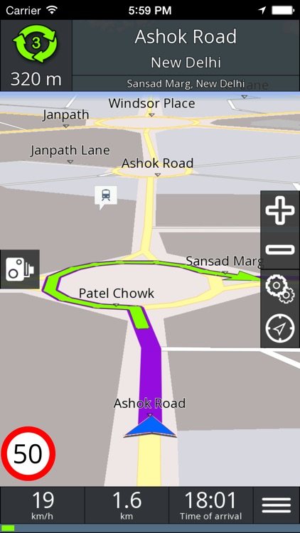GPS navigation BE-ON-ROAD screenshot-3