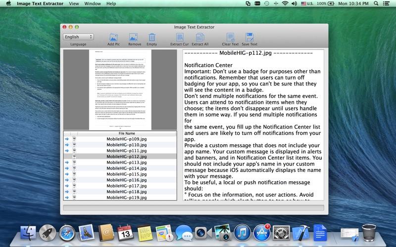 Image Text Extractor скриншот программы 1