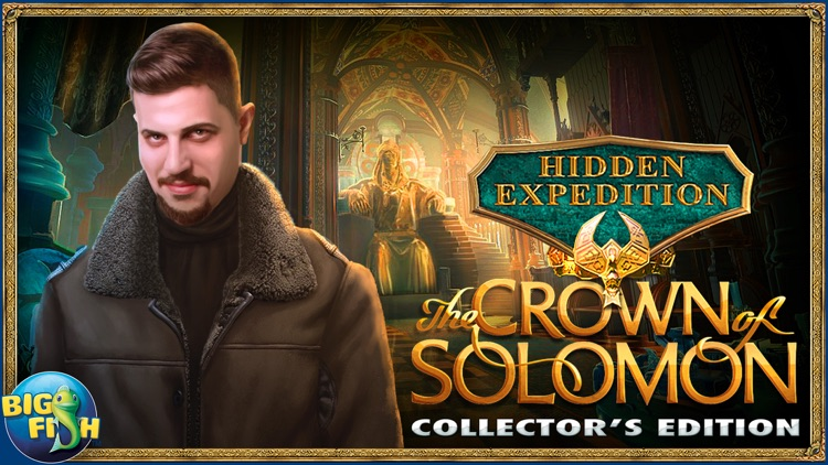 Hidden Expedition: The Crown of Solomon - Hidden Objects, Adventure & Mystery screenshot-4