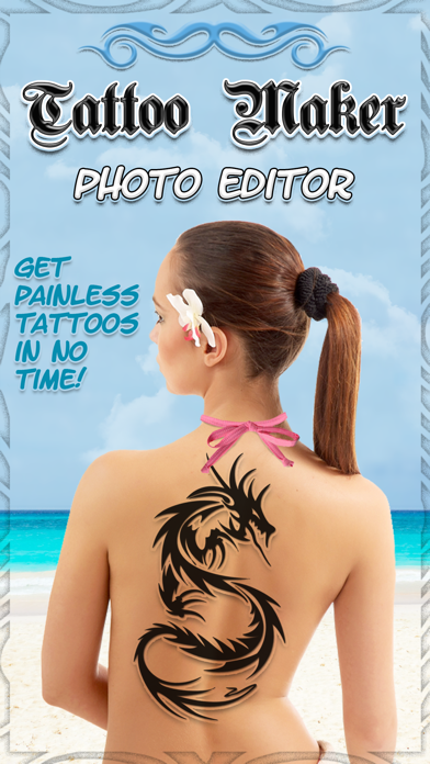 Tattoo Maker Photo Editor and Fake Ink Tattoos
