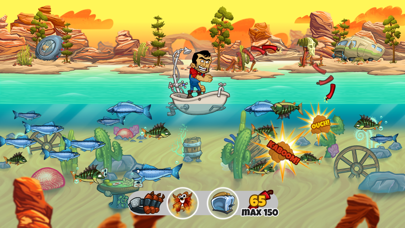 Screenshot #1 pour Dynamite Fishing World Games