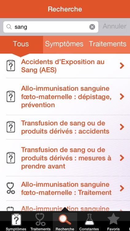 Diagnostics & thérapeutique screenshot-3
