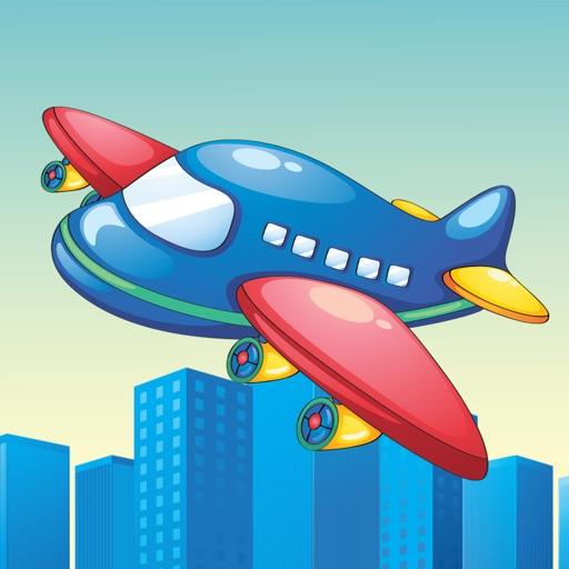 Активность! Игра самолетов для малышей, чтобы узнать для детского сада и Детский сад