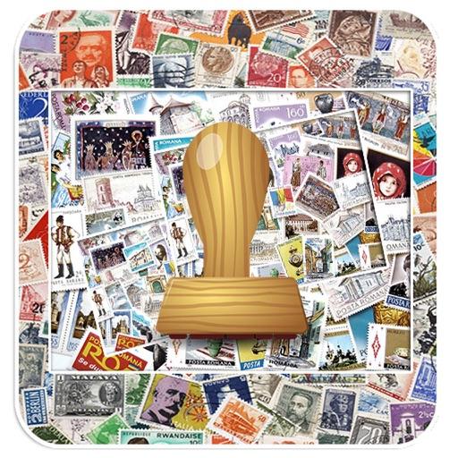 Stamp Photo Frames