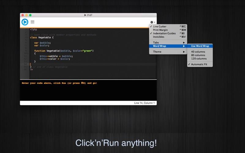 Скриншот №1 к Run PHP для Mac