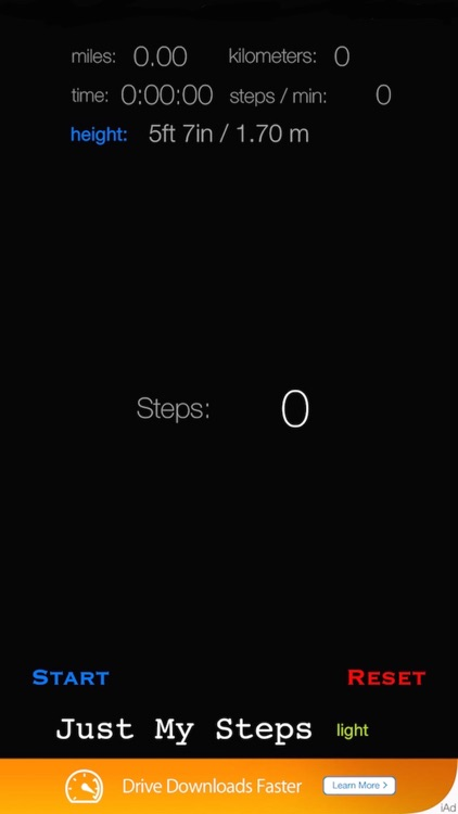 Just My Steps