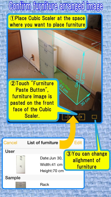 CamScale - Easy measuring & remodeling by camera screenshot-4