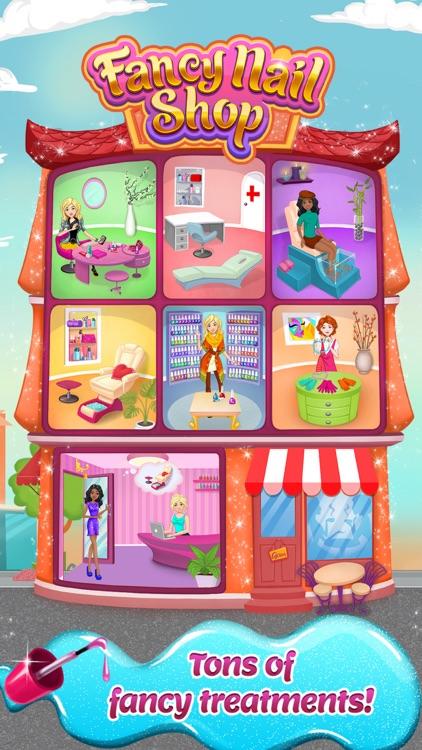 Fancy Nail Shop - Mani Pedi Salon screenshot-3