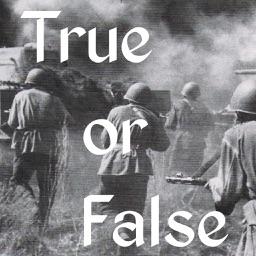 True or False - World War II Battles