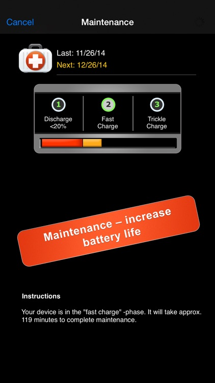 iBattery Pro - Battery status and maintenance screenshot-3